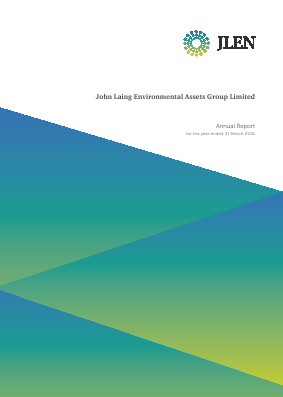 John Laing Environmental Asset Group annual report 2016