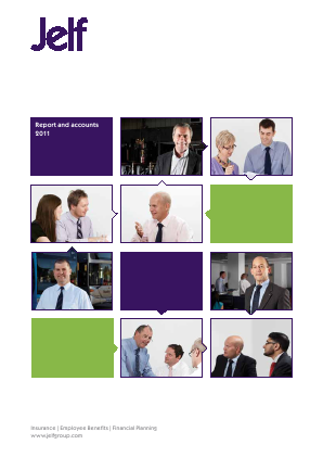 Jelf Group Plc annual report 2011