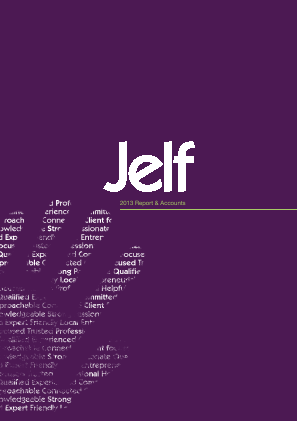 Jelf Group Plc annual report 2013