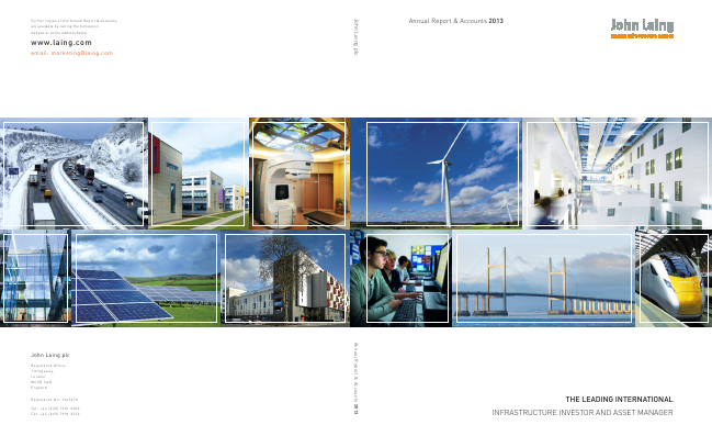 John Laing Group Plc annual report 2013