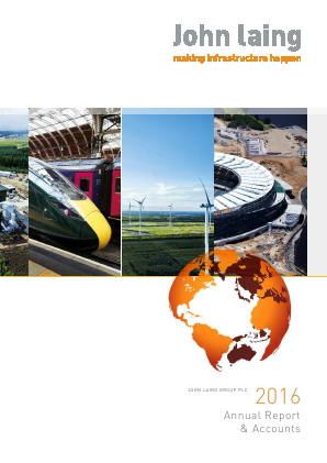 John Laing Group Plc annual report 2016