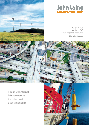 John Laing Group Plc annual report 2018
