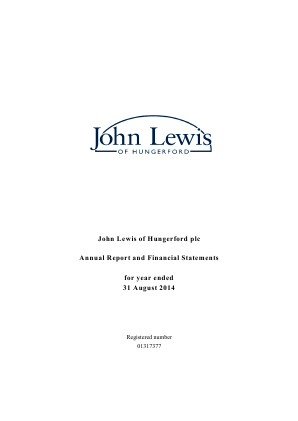 John Lewis Of Hungerford annual report 2014