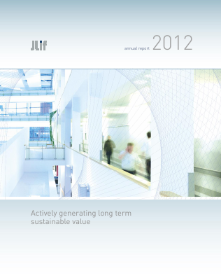 John Laing Infrastructure Fund annual report 2012