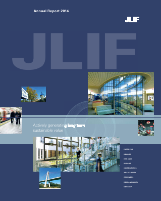 John Laing Infrastructure Fund annual report 2014