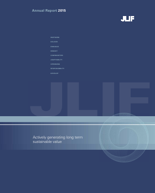 John Laing Infrastructure Fund Ltd annual report 2015