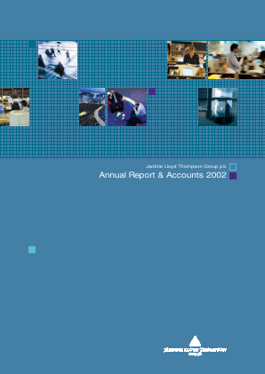 Jardine Lloyd Thompson Group annual report 2002