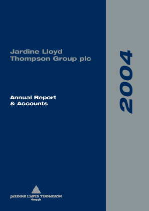 Jardine Lloyd Thompson Group annual report 2004