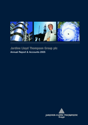 Jardine Lloyd Thompson Group annual report 2005