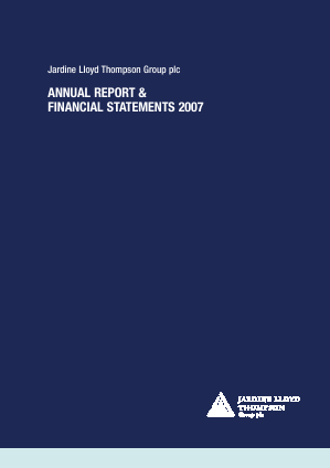 Jardine Lloyd Thompson Group annual report 2007