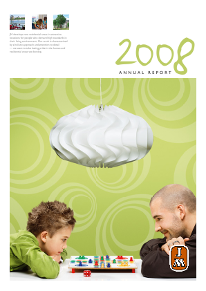 JM annual report 2008