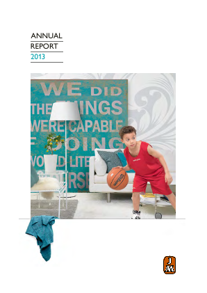 JM annual report 2013