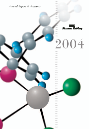 Johnson Matthey annual report 2004