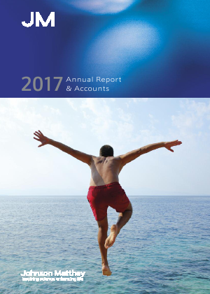 Johnson Matthey annual report 2017