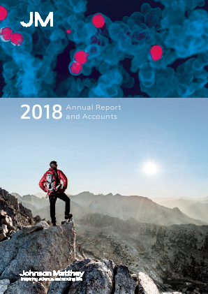 Johnson Matthey annual report 2018