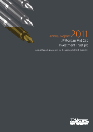 JP Morgan Mid Cap Investment Trust annual report 2011