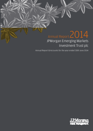 JP Morgan Emerging Markets Investment Trust annual report 2014