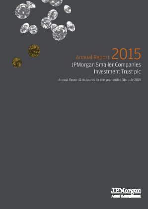 JP Morgan Smaller Companies Investment Trust Plc annual report 2015
