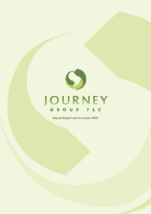 Journey Group Plc annual report 2009