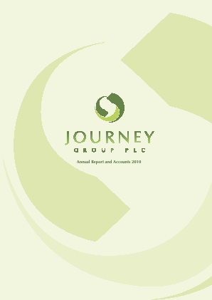 Journey Group Plc annual report 2010