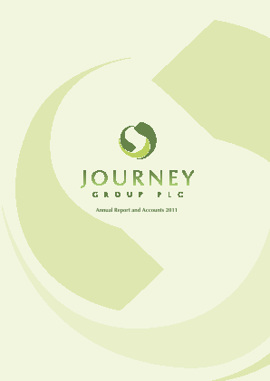 Journey Group Plc annual report 2011