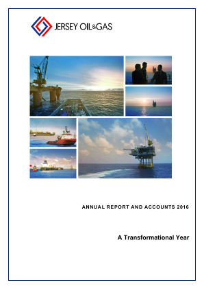 Jersey Oil & Gas Plc annual report 2016