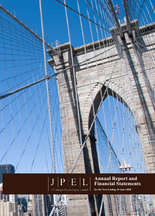 JP Morgan Private Equity annual report 2008