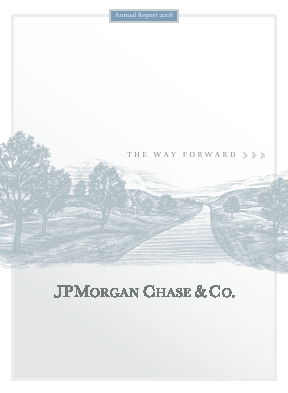 J.P. Morgan Chase annual report 2008