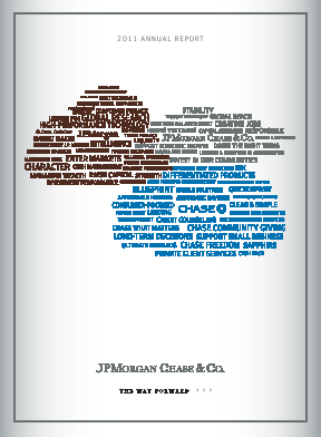 J.P. Morgan Chase annual report 2011