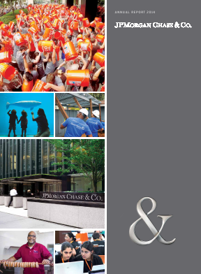 J.P. Morgan Chase annual report 2014