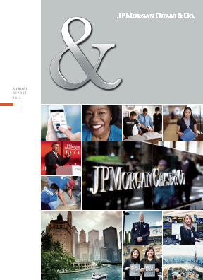 JP Morgan Chase & Co annual report 2013