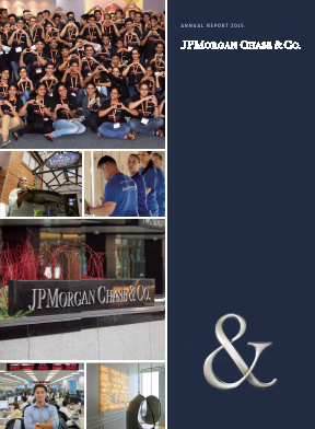 JP Morgan Chase & Co annual report 2015