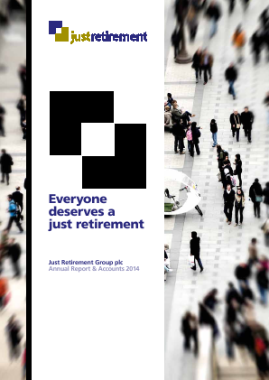 Just (Merger of Just Retirement and Partnership Assurance) annual report 2014