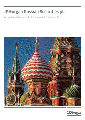 JP Morgan Russian Securities annual report 2015