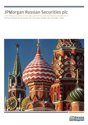 JP Morgan Russian Securities annual report 2016