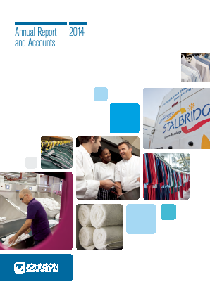 Johnson Service Group Plc annual report 2014