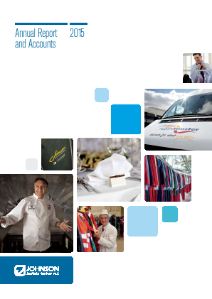 Johnson Service Group Plc annual report 2015