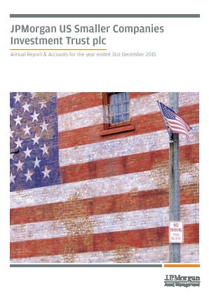 JP Morgan Us Smaller Companies Investment Trust Plc annual report 2015