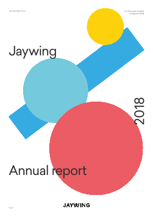 Jaywing Plc annual report 2018