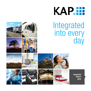 KAP Industrial Holdings annual report 2016