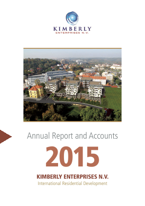 Kimberly Enterprises NV annual report 2015