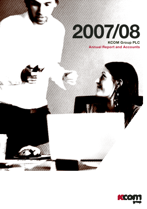 KCOM Group Plc annual report 2008