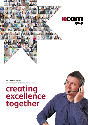 KCOM Group Plc annual report 2011