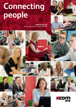 KCOM Group Plc annual report 2015