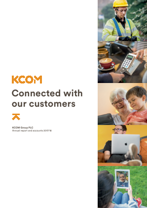 KCOM Group Plc annual report 2018