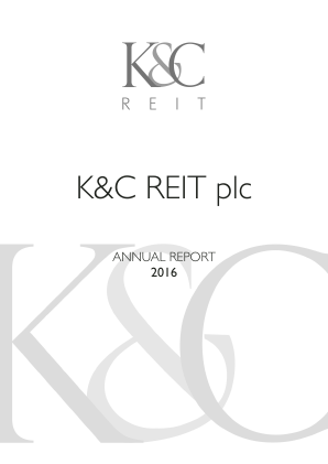 KCR Residential Reit annual report 2016