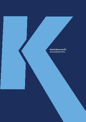 Kemin Resources Plc annual report 2015