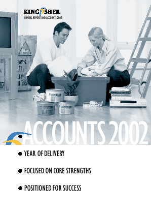 Kingfisher annual report 2002