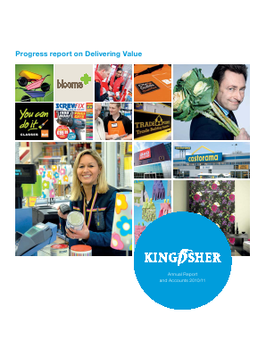 Kingfisher annual report 2010