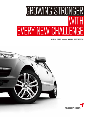 Kumho Tire Company Inc annual report 2011